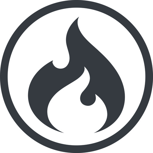 codeigniter line, normal, circle, logo, brand, icon, horizontal, mirror, codeigniter, igniter, code, php, framework, flame, fire free icon 512x512 512x512px