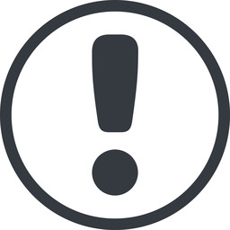 exclamation-mark-rounded line, normal, circle, mark, warning, exclamation, rounded, info, exclamation-mark-rounded, alert free icon 256x256 256x256px