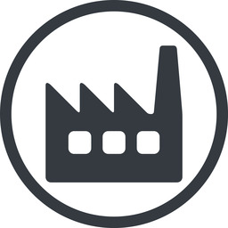 factory-window line, normal, circle, factory, industry, window, factory-window free icon 256x256 256x256px