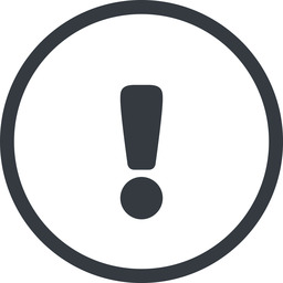 warning-solid line, normal, circle, mark, warning, exclamation, warning-solid, alert free icon 256x256 256x256px