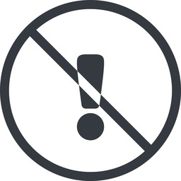warning-solid line, normal, circle, mark, warning, exclamation, prohibited, warning-solid, alert free icon 256x256 256x256px