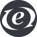 expressionengine solid, circle, logo, brand, php, ellislab, content, management, system, expression, engine, expressionengine, mysql, sql free icon 128x128 128x128px
