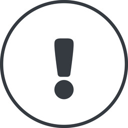 warning-solid thin, line, circle, mark, warning, exclamation, warning-solid, alert free icon 256x256 256x256px