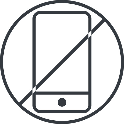 smartphone-thin thin, line, up, circle, horizontal, mirror, prohibited, iphone, phone, mobile, android, gsm, smartphone, cell, smartphone-thin free icon 512x512 512x512px