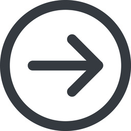 arrow-simple-wide line, right, circle, arrow, direction, arrow-simple-wide free icon 256x256 256x256px
