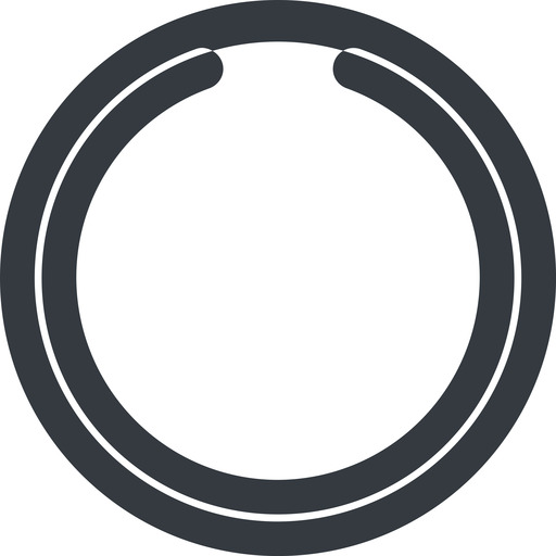 circle-notch-wide line, wide, circle, wait, load, loading, notch, waiting, circle-notch-wide free icon 512x512 512x512px