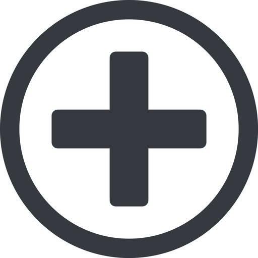 plus-solid line, circle, plus, add, new, medical, plus-solid, create, addition, +, more, medic free icon 512x512 512x512px