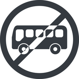 bus-side line, wide, circle, horizontal, mirror, car, vehicle, transport, prohibited, bus, side, bus-side free icon 256x256 256x256px