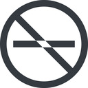 minus-wide line, up, wide, circle, minus, remove, sub, substract, prohibited, collapse, minus-wide, -, less free icon 128x128 128x128px