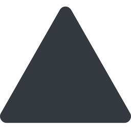 equilateral-triangle triangle, thin, up, solid, equilateral, equilateral-triangle free icon 256x256 256x256px