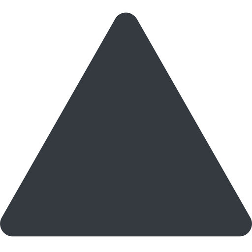 equilateral-triangle triangle, thin, up, solid, equilateral, equilateral-triangle free icon 512x512 512x512px