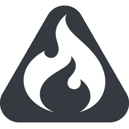 codeigniter triangle, wide, solid, equilateral, logo, brand, icon, horizontal, mirror, codeigniter, igniter, code, php, framework, flame, fire free icon 256x256 256x256px