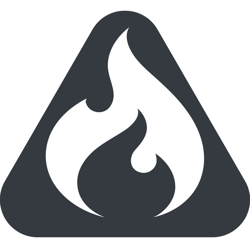 codeigniter triangle, wide, solid, equilateral, logo, brand, icon, horizontal, mirror, codeigniter, igniter, code, php, framework, flame, fire free icon 512x512 512x512px