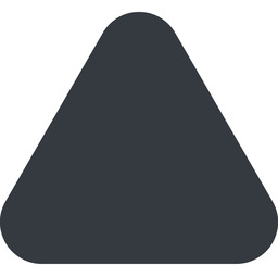 equilateral-triangle triangle, up, wide, solid, equilateral, equilateral-triangle free icon 256x256 256x256px
