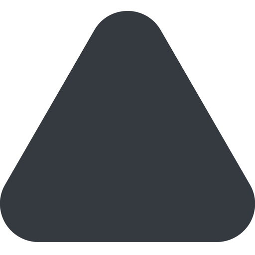 equilateral-triangle triangle, up, wide, solid, equilateral, equilateral-triangle free icon 512x512 512x512px
