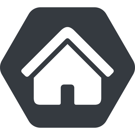 home-small-solid normal, solid, hexagon, small, home, house, home-small, home-small-solid free icon 512x512 512x512px