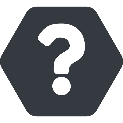 question-mark normal, solid, hexagon, question, mark, question-mark, help free icon 512x512 512x512px