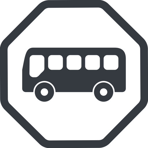 bus-side line, normal, wide, octagon, horizontal, mirror, car, vehicle, transport, bus, side, bus-side free icon 512x512 512x512px