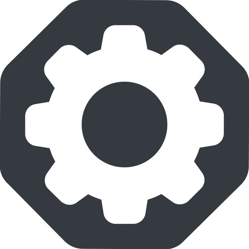 setting-solid normal, solid, octagon, setting, config, gear, wheel, settings, cog, setting-solid free icon 512x512 512x512px