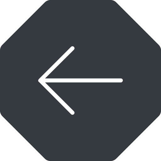 arrow-simple-thin thin, left, solid, octagon, arrow, direction, arrow-simple-thin free icon 512x512 512x512px
