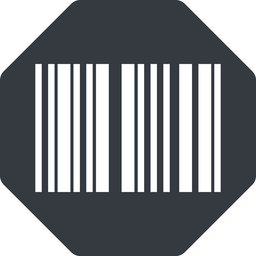 barcode-thin thin, up, solid, octagon, barcode, barcode-thin free icon 256x256 256x256px