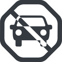 car-front-small up, octagon, car, front, vehicle, transport, car-front-small free icon 128x128 128x128px