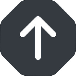 arrow-simple-wide up, solid, octagon, arrow, direction, arrow-simple-wide free icon 256x256 256x256px