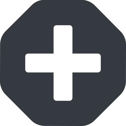 plus-solid solid, octagon, plus, add, new, medical, plus-solid, create, addition, +, more, medic free icon 512x512 512x512px