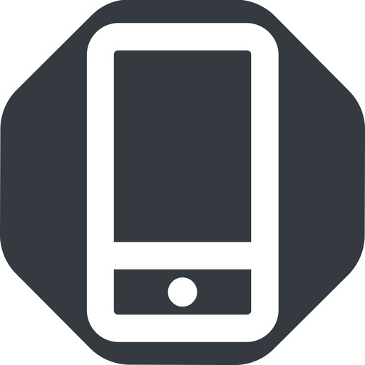 smartphone-wide up, wide, solid, octagon, iphone, phone, mobile, android, gsm, smartphone, cell, smartphone-wide free icon 512x512 512x512px