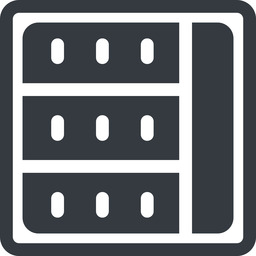spreadsheet-solid line, right, normal, square, cell, table, data, grid, row, columns, spreadsheet, spreadsheet-solid free icon 256x256 256x256px