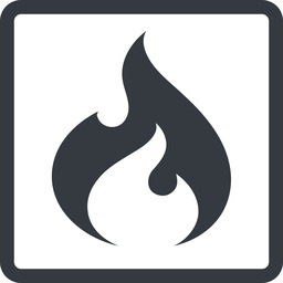 codeigniter line, normal, square, logo, brand, icon, horizontal, mirror, codeigniter, igniter, code, php, framework, flame, fire free icon 256x256 256x256px