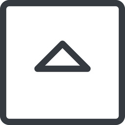 caret line, up, normal, square, arrow, direction, caret free icon 256x256 256x256px