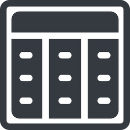 spreadsheet-solid line, up, normal, square, cell, table, data, grid, row, columns, spreadsheet, spreadsheet-solid free icon 256x256 256x256px