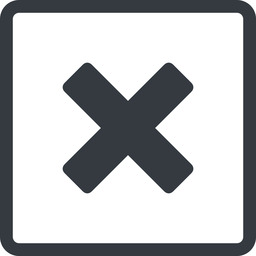 times-solid line, normal, square, times, cross, error, not, remove, no, delete, times-solid, danger, close, cancel, x free icon 256x256 256x256px