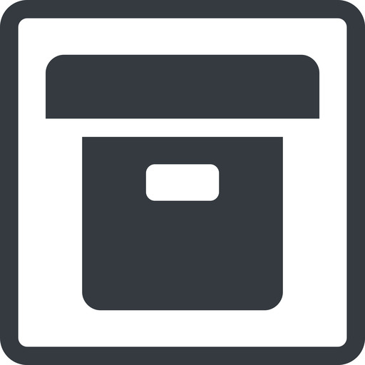 archive-solid line, square, archive, back-up, archive-solid free icon 512x512 512x512px