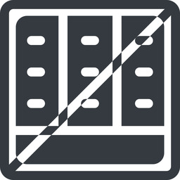 spreadsheet-solid line, down, normal, square, horizontal, mirror, prohibited, cell, table, data, grid, row, columns, spreadsheet, spreadsheet-solid free icon 256x256 256x256px