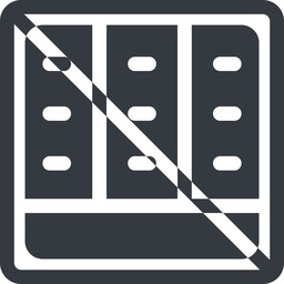 spreadsheet-solid line, down, normal, square, prohibited, cell, table, data, grid, row, columns, spreadsheet, spreadsheet-solid free icon 256x256 256x256px