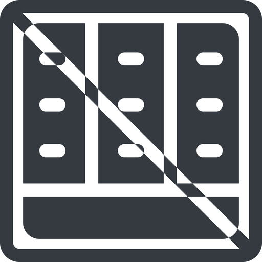 spreadsheet-solid line, down, normal, square, prohibited, cell, table, data, grid, row, columns, spreadsheet, spreadsheet-solid free icon 512x512 512x512px