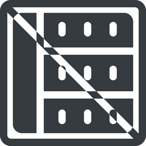 spreadsheet-solid line, right, normal, square, horizontal, mirror, prohibited, cell, table, data, grid, row, columns, spreadsheet, spreadsheet-solid free icon 512x512 512x512px