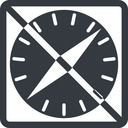 apple-safari line, normal, square, logo, brand, javascript, prohibited, apple, html, browser, internet, safari, compass, apple-safari free icon 128x128 128x128px