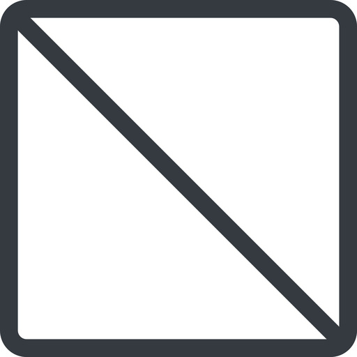 square line, normal, square, prohibited free icon 512x512 512x512px
