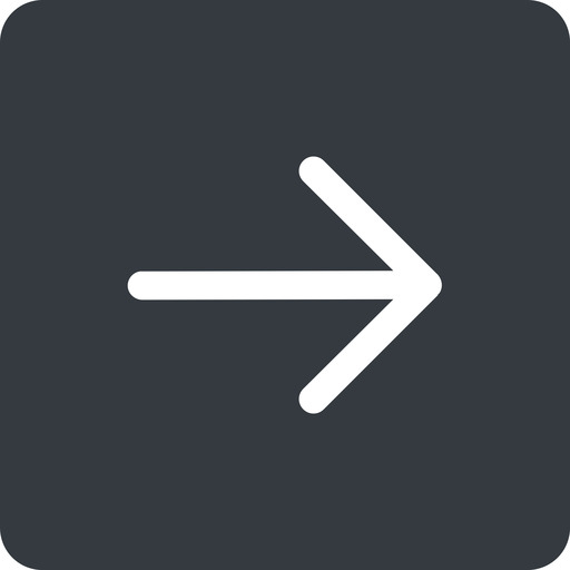 arrow-simple right, solid, square, arrow, direction, arrow-simple free icon 512x512 512x512px