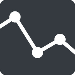 analytics up, normal, solid, square, horizontal, mirror, graph, analytics, chart free icon 256x256 256x256px