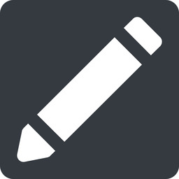 pen-solid up, normal, solid, square, pen, pencil, draw, edit., pen-solid free icon 256x256 256x256px