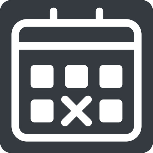 deadline normal, solid, square, date, schedule, event, timetable, calendar, deadline, calendar. free icon 512x512 512x512px