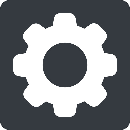 setting-solid normal, solid, square, setting, config, gear, wheel, settings, cog, setting-solid free icon 512x512 512x512px