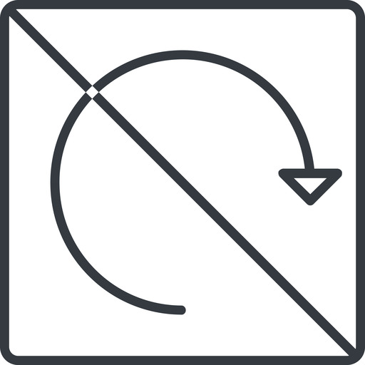 undo-thin thin, line, left, square, horizontal, mirror, arrow, prohibited, reload, refresh, undo, redo, undo-thin, restore free icon 512x512 512x512px