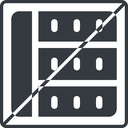 spreadsheet-solid thin, line, left, square, prohibited, cell, table, data, grid, row, columns, spreadsheet, spreadsheet-solid free icon 128x128 128x128px