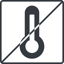 temperature-high-solid thin, line, square, horizontal, mirror, prohibited, temperature, thermometer, heat, high, temperature-high-solid, temperature-high, hot free icon 256x256 256x256px