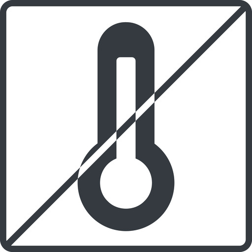 temperature-high-solid thin, line, square, horizontal, mirror, prohibited, temperature, thermometer, heat, high, temperature-high-solid, temperature-high, hot free icon 512x512 512x512px